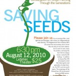 Saving Seeds Event