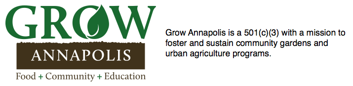 Grow Annapolis Community Garden Project
