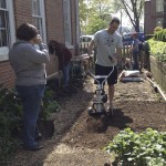 City Dock Community Garden Work Party April 2012